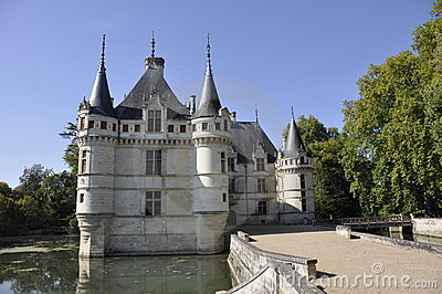 Azay-le-Rideau chateau