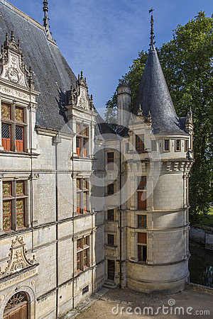 Azay-le-Rideau - Loire Valley - France Royalty Free Stock Photos - Image: 26632268
