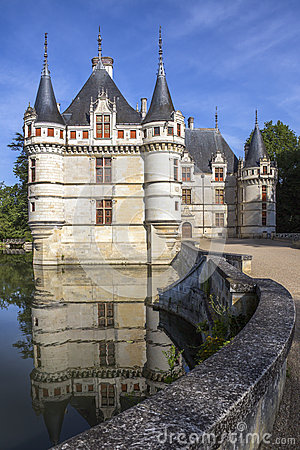 Azay le Rideau - Loire Valley - France