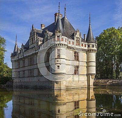 Azay le Rideau - Loire Valley - France