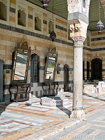 Azem Palace, Damascus Stock Photo - Image: 13717560