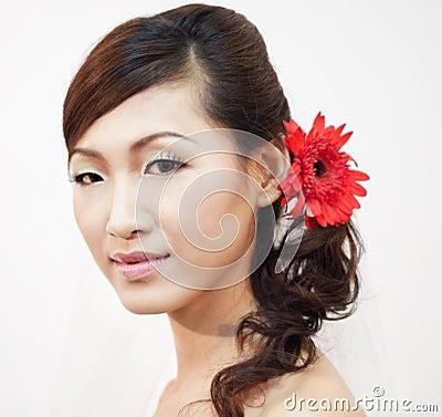 Aziatische bruid