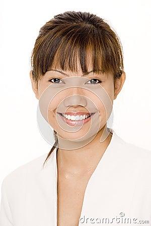 Aziatische glimlach 1