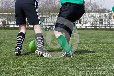 Azione del piede di calcio