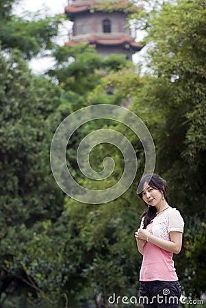 Azjatykcia dziewczyna