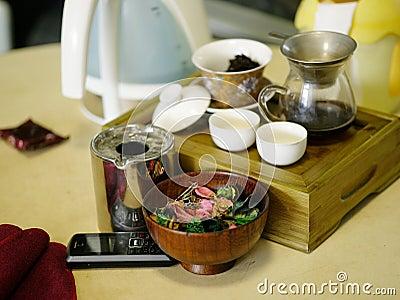 Azjatykcia zielarska herbata