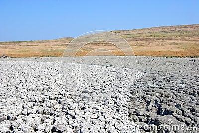 Azov muddy desert