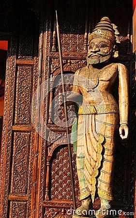 Aztec art Editorial Stock Photo