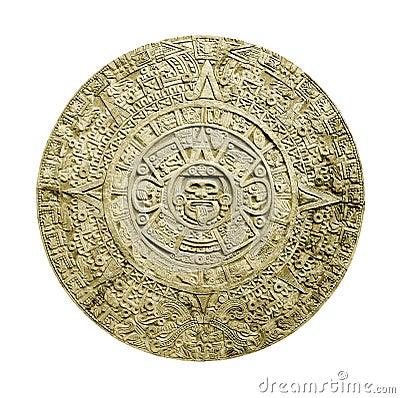 Free Aztec Calendar Royalty Free Stock Photos - 3738478