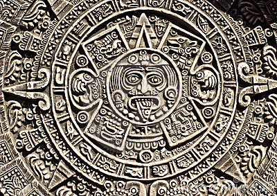 Aztec Calendar Stock Photography - Image: 9134202