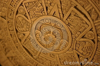 Aztec Calender Royalty Free Stock Images - Image: 18066739