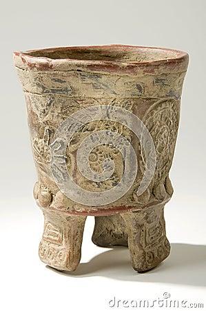 Aztec Clay Vase