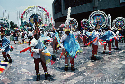 Aztec Dancers-Mexico City