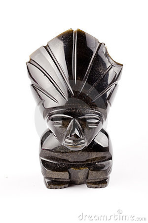 Aztec head