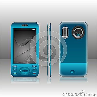 Azul móvil