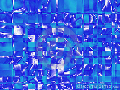 Azul quadrado