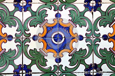 Azulejo in Braga