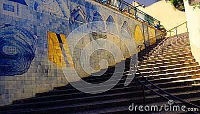 Azulejo Stairs