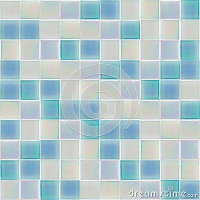 Azulejos de cristal interiores azules foto de archivo - Azulejos de cristal ...
