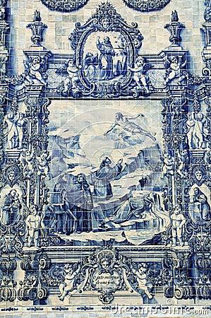Free Azulejos On Capela Das Almas In Porto, Portugal Stock Photo - 30410570
