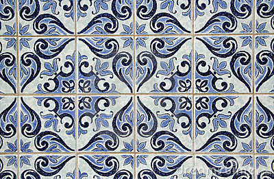 azulejos portugais traditionnels images libres de droits image 7522649. Black Bedroom Furniture Sets. Home Design Ideas