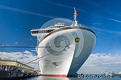 Azura cruise ship Editorial Stock Photo