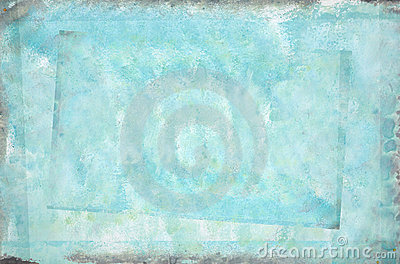 Azure abstract painted