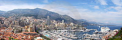 Azure coast of France,Monaco, Monte-Carlo