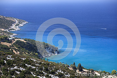 Azure coast of Greece, Zakynthos Island