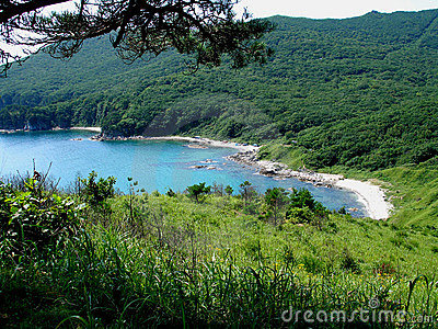 Azure lagoon