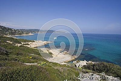Azure ocean - panorama
