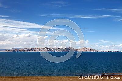 Azure plateau waterscape
