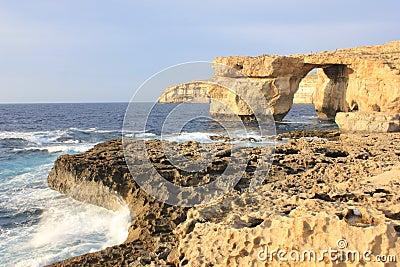 The Azure Window and Fugus Rock Gozo