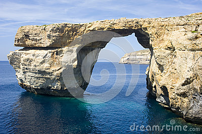 Azure Window, Gozo Island, Malta.