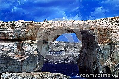Azure Window, Gozo, Malta.