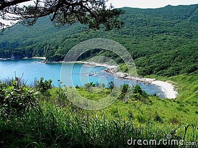 Azuurblauwe lagune