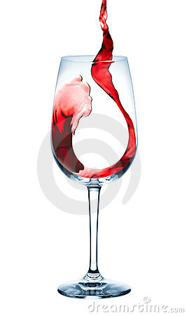 Bägaren häller wine