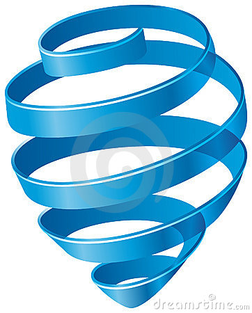 Błękit spirala