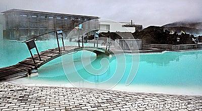 Błękitna laguna w Iceland