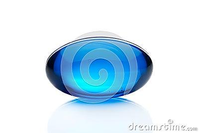 Błękitny pigułka