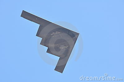 B-2 Spirit in flight Editorial Stock Photo