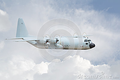 B-52 in the sky