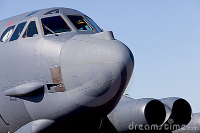B-52 Stratofortress Bomber Jet Airplane