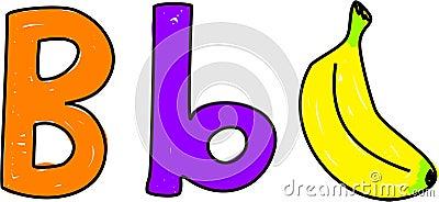 B is for banana