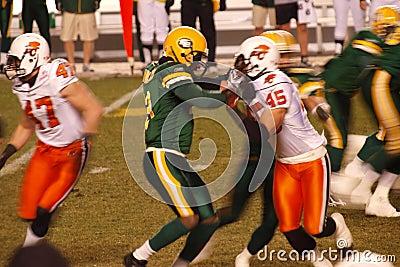 B.C. Lions vs. Edmonton Eskimos 2 Editorial Stock Photo
