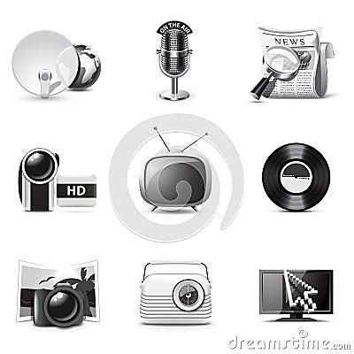 B ikon medialne serie w