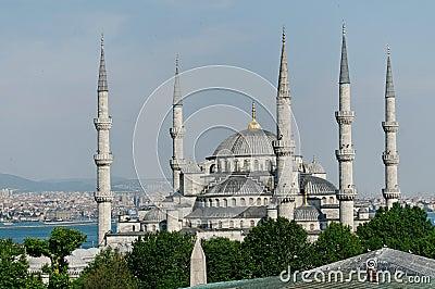 B;ue Mosque