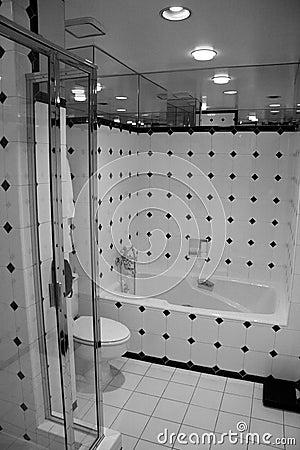 B&W Bathroom