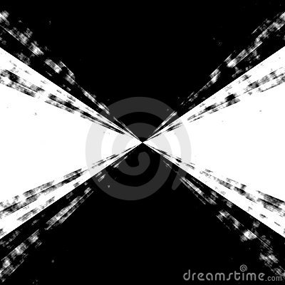 B&w Zooming Vortex