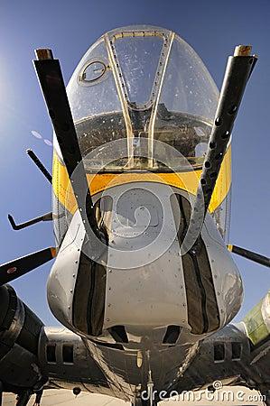 B17 nose gunner